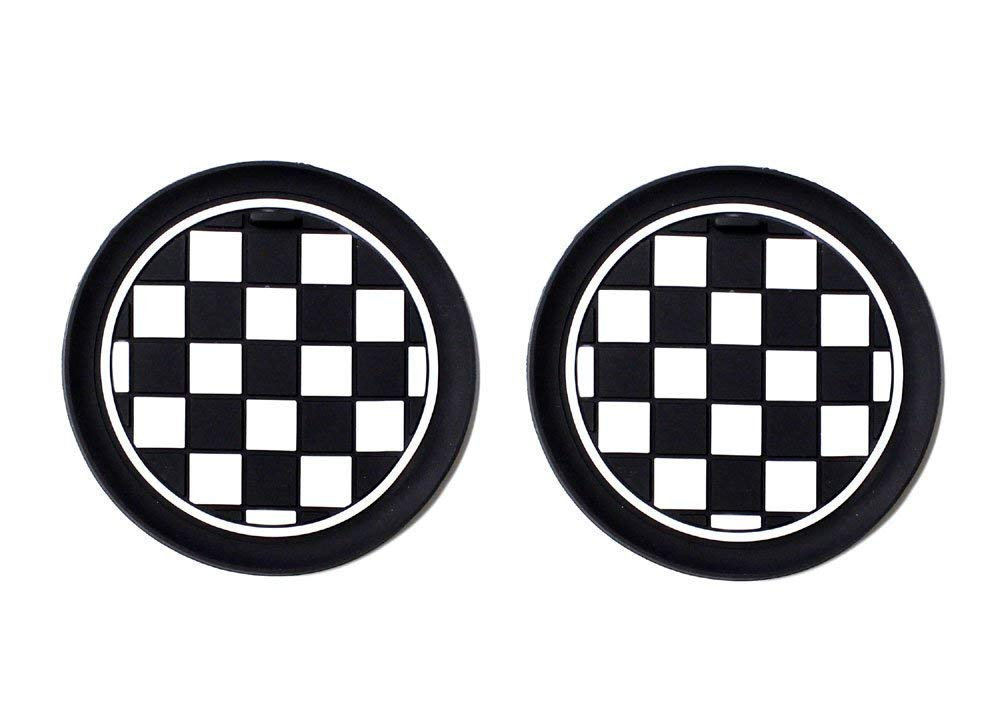 Buy Ijdmtoy Black White Checkered Checkerboard Pattern