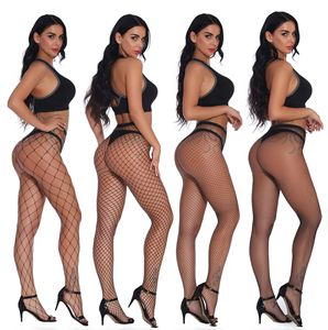 Women's Stockings Thigh High Heel Sexy Stockings Socks Female Female Fish Net Sexy Silk Stockings For Pantyhose Women