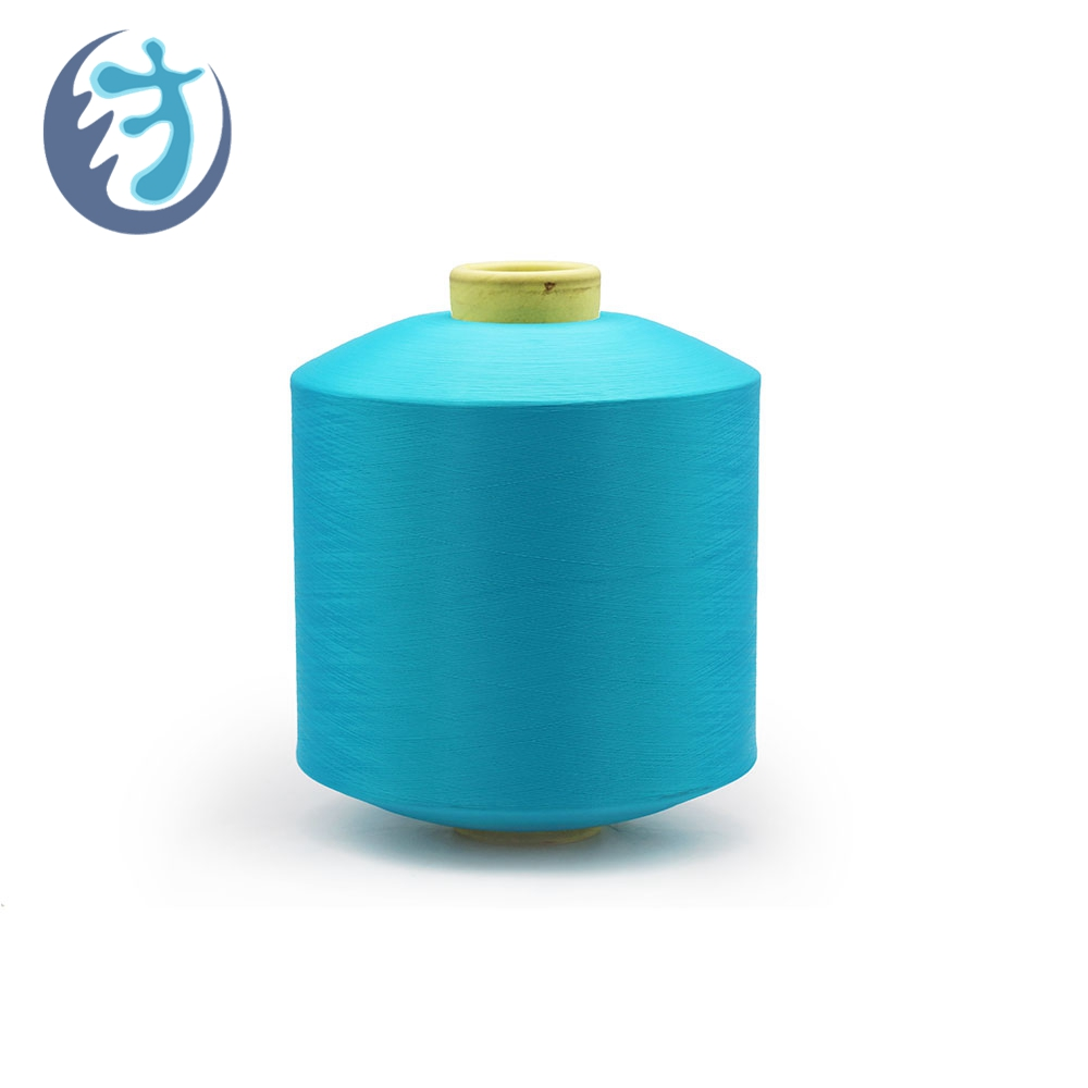 Current prices eco-friendly color dty elastic polyester yarn