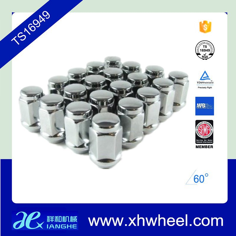 20CHROME 12X1.5 WHEELS LUGNUTS