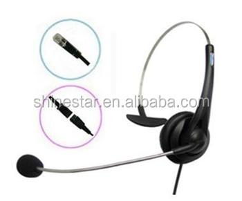 Single Side Telephone Headset With Mic Rj11 Rj9 Plug Buy Single Side Telephone Headset One Side Headset Telephone Style Headset Product On Alibaba Com