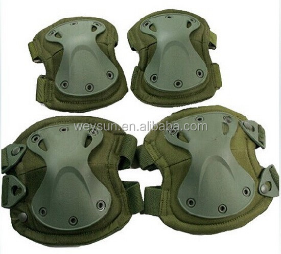 Min 160pcs Tactical X-tak Pad,,EVA,TPU,1000Dnylon, Lycra CoolMax knee pads & elbow pads set фото