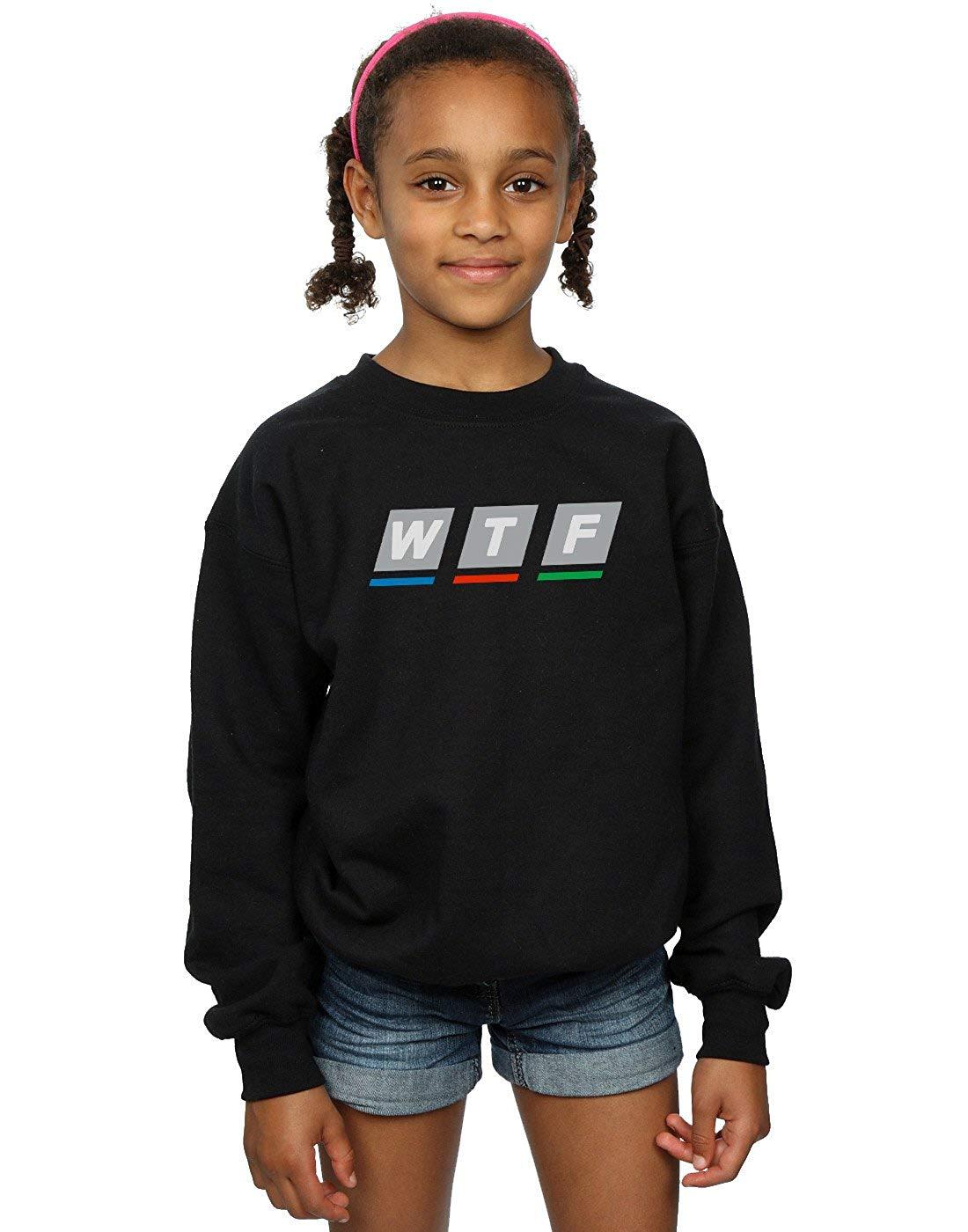 ABSOLUTECULT Drewbacca Girls WTF Broadcasting Sweatshirt