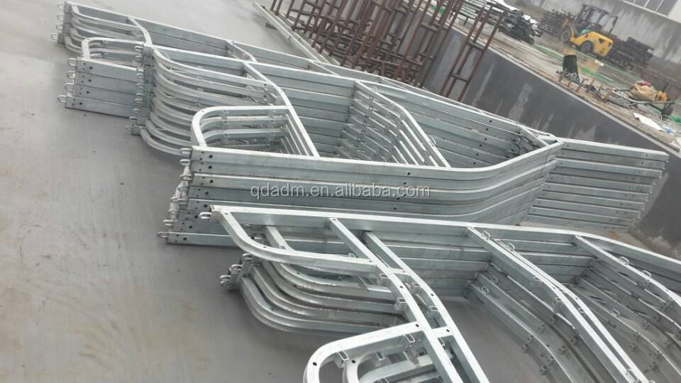 Heavy Duty Galvanized Boat Trailer Frame - Buy Light Duty Trailer ...