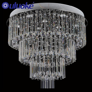 2018 Elegant Design Style Modern Pendant Flush Mount Ceiling Light Fixture 6 Lights Pendant Chandelier Crystal Lighting
