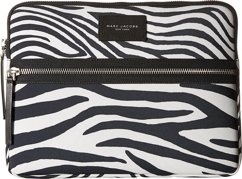 "Marc Jacobs Zebra Printed Biker 13"" Computer Case"