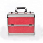 The popular PVC material can be locked hard caboodles makeup case