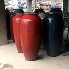 extra large outdoor hand glazed ceramic plant pots for sale