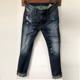 OEM and ODM Low MOQ straight jeans casual denim jeans for men