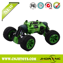 2018 2.4G Double Sided Remote Control Stunt Car One Key Deformation Vehicle Rock Crawler Off-road RC Car Transform Robot Toy