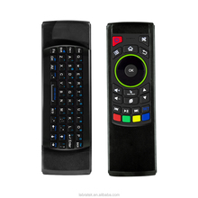 2.4G FM5 Fly Air Mouse Universal <span class=keywords><strong>Remote</strong></span> <span class=keywords><strong>Control</strong></span> Mini Wireless Keyboard untuk Android TV Box X96 C2
