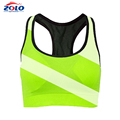 Custom sublimation sexy womens running sports bra