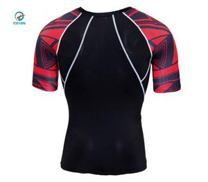 China Manufacturer Cheap Price Full Over Printing Compression Shirts