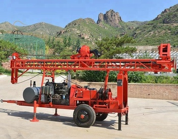Portable Water Well Drilling Rig Gl-ii Used Water Drilling Rigs For Sale In  India - Buy Portable Water Well Drilling Rig,Gl-ii Used Water Drilling