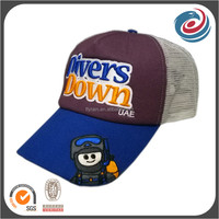 high quality 3d embroidery cap sports hat summer mesh trucker hats