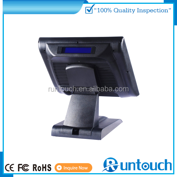 Runtouch RT-6800A 15 Inch Touch Screen LCD Monitor 1280x1024 Resolution, VGA, HDMI, TV IN, PC/ POS
