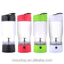 2016 new product custom logo plastic protein shaker BPA free mix cup wide mouth