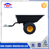 atv plastic trailer with 4 wheels heavy duty top quality china
