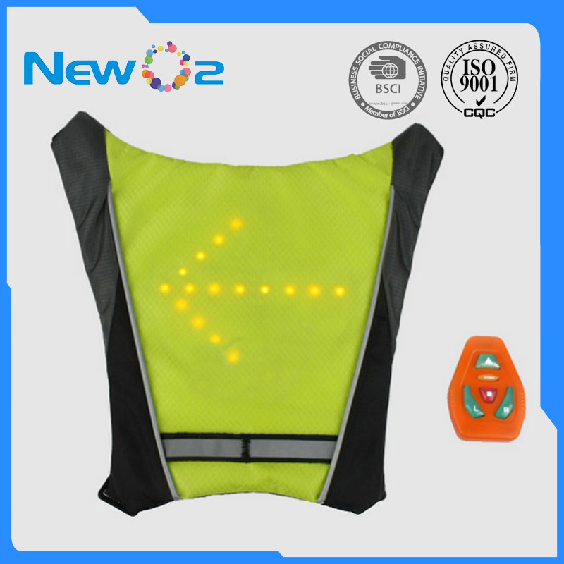 Bicycle Accessories Led Wireless Cycling Vest Safety Led Turn Signal Light Bike Bag Safety Turn Signal Light Vest Bicycle Reflective Warning Vests Terrific Value Cycling