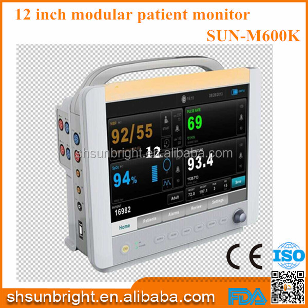 Modular Patient monitor ETCO2 Sensor External Mainstream ETCO2 Monitor/patient monitor