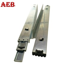 Undermounted 45mm full extension hanging drawer slides rail for furniture