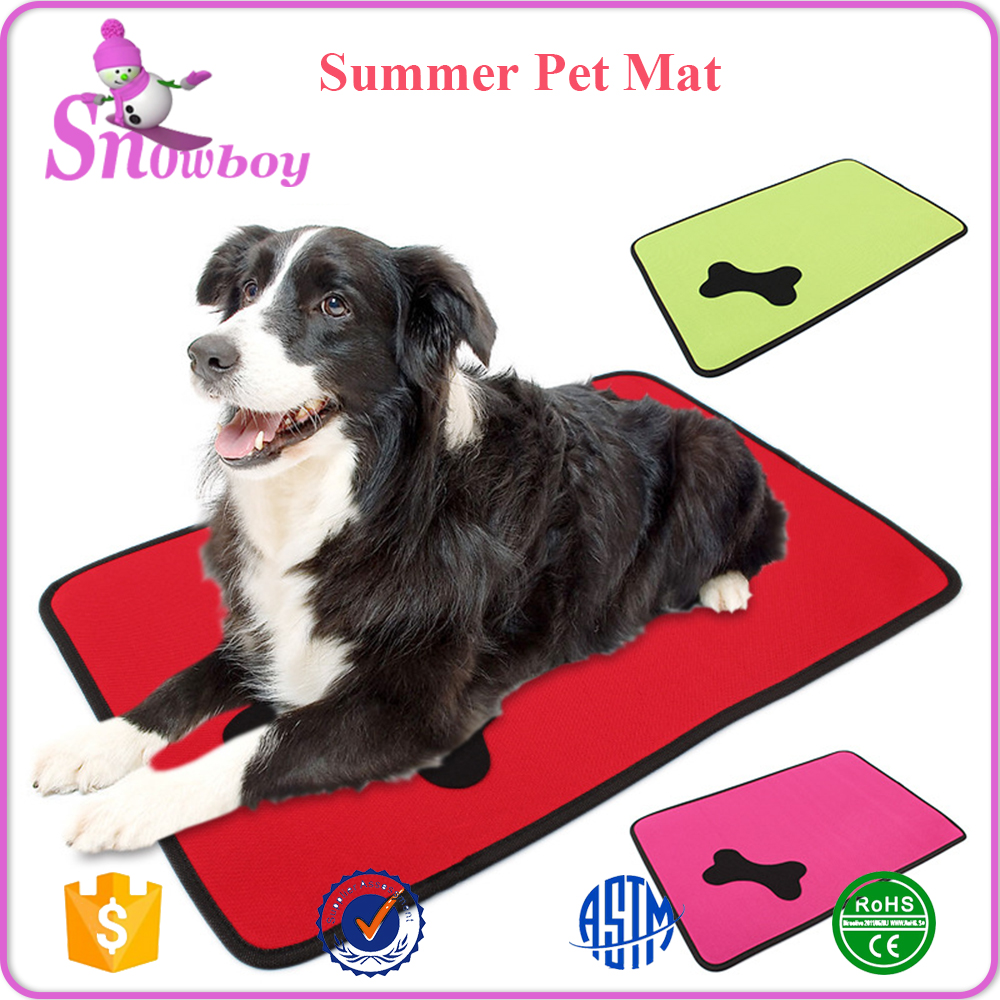 Durable and Breathable Pet Cooling Mat, Summer Pet Sleeping Mat Pads for Dog Cat