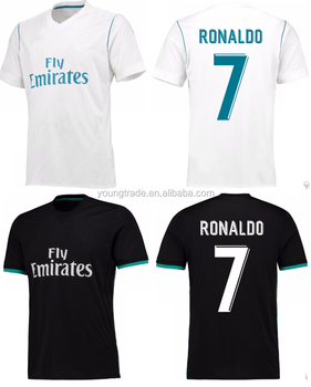 finest selection e811f d6d25 Real Top Quality 2017 2018 Soccer Jersey For Madrid Fans - Buy Madrid  Jersey,2017 Jersey,Real Jersey Product on Alibaba.com
