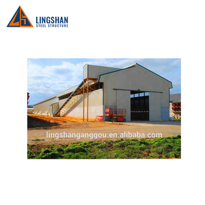 low cost control steel shed broiler poultry house for 10000 chickens