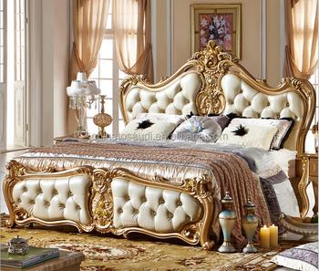 Royal Furniture Classic Bed Set Home Furniture Italian Antique ...