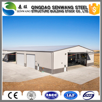 Low price prefabricated steel structure warehouse