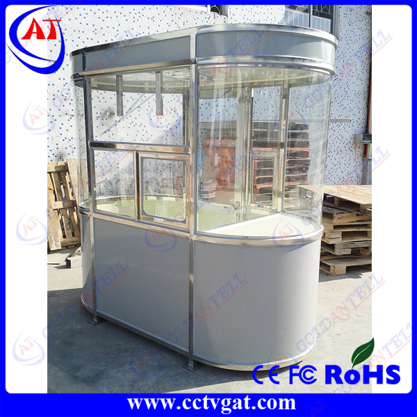 Durable and concise prefab steel sentry box house&mobile watch house