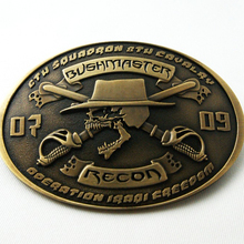 High Quality OEM Custom Design style 2D 3D Antique plated Belt buckle