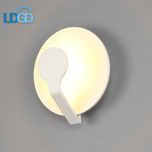 Round fancy boundary wall light for home hotel
