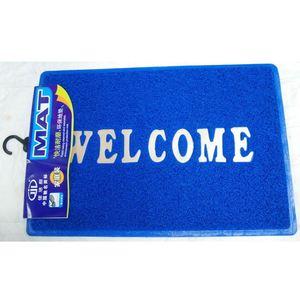(B4060) Wholesale coir various size welcome logo antibacterial mat