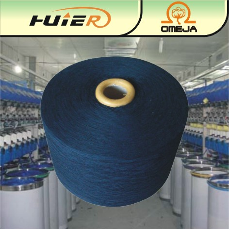 12S Recycled cotton polyester blend weaving fabric yarn