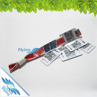 heat transfer CYMK color print wristband party suplies