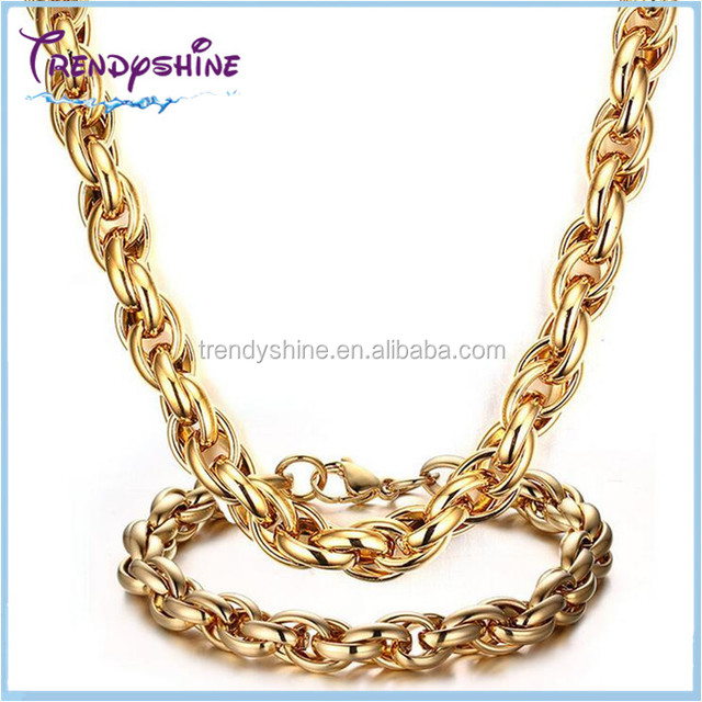 China 24k Gold Jewelry Set Wholesale Alibaba