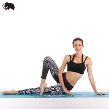 Sublimation printed breathable fitness cropped yoga pants dropshipping
