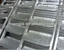 Galvanized Scaffolding Steel Ladder/ Stair Case for frame system