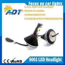 The New 3rd generation 56W 5000lm Car LED Conversion Lamps kit 9005/HB3 LED Headlight Kit for cars