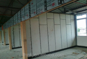Prefabricated House Fiber Cement Foam Board Insulation Lightweight Concrete
