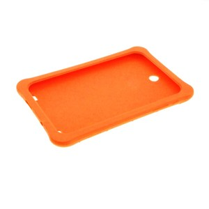 Customized silicone tablet bumper cover rubber moulded made anti slip protective cover
