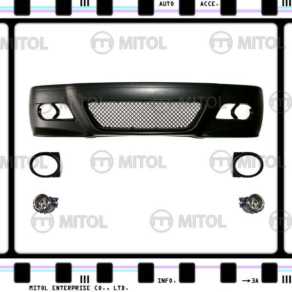 For BMW E46 2D Front Bumper (M3 Look) Car Body Kits