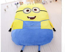 1.3*1.8M Wholesale soft animal plush kids cartoon children bed