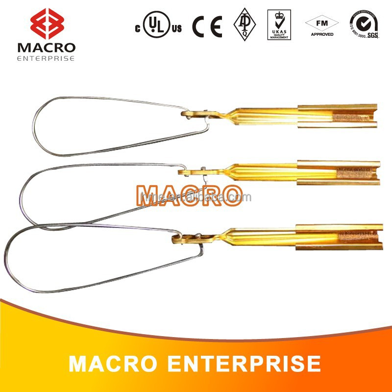 Fiber-optic Drop Wire Clamp/flat Wedge Cable Clamp/fiber Optic Drop ...