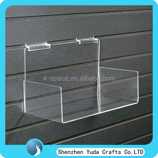 Store Acrylic Slatwall Sweets Dispenser