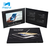 7 Inches Video Folder, Videopak, LCD Invitation Brochure Card With Pocket