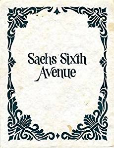 Sachs Sixth Avenue Menu Columbia Missouri 1980's