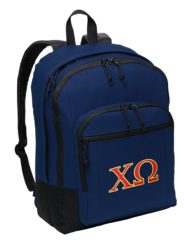 Chi Omega Backpack CLASSIC Chi O Sorority School Bag or Travel