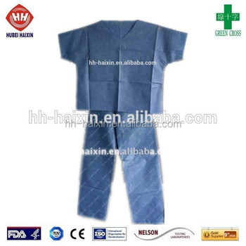 4a47ae108e3 Medical Disposable Scrub Suits Operating Theatre Scrub - Buy ...